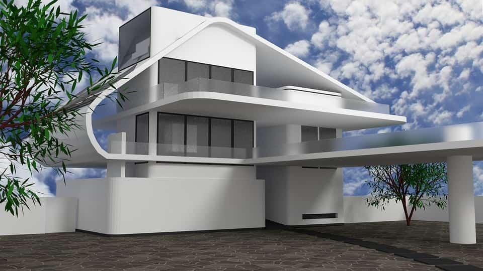 A modern építészet és a minimalista stílus összhangja
