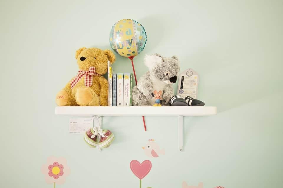 Gyerekszoba dekoráció néhány egyszerű lépésben