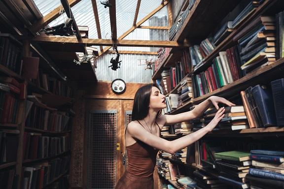Könyvespolcok nemcsak az irodalom szerelmeseinek