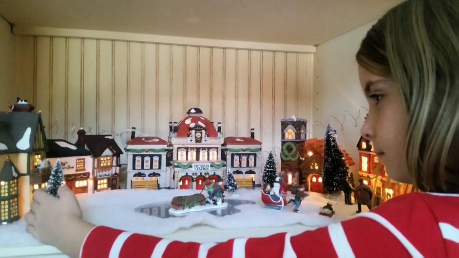 Karácsonyi falu 2