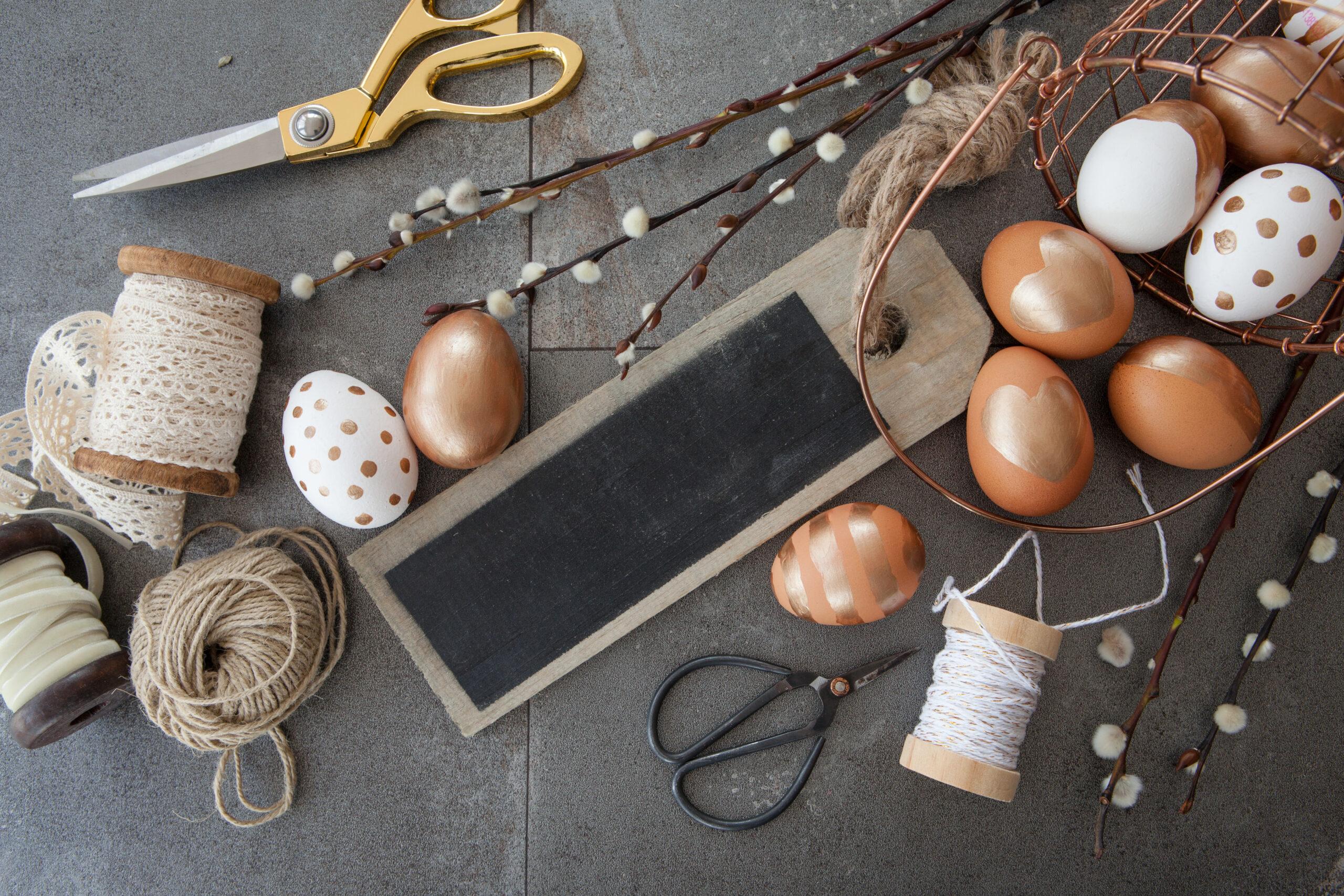 Húsvéti dekoráció asztalra