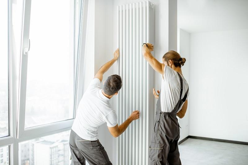 radiátor felhelyezése