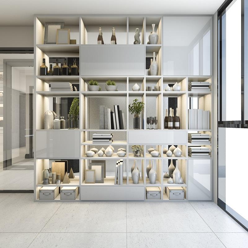 kis nappali berendezése beépített szekrény
