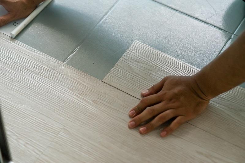 vinyl padló csempére